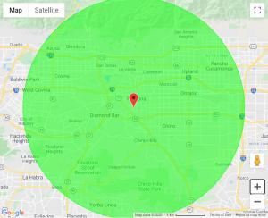 Pomona Tree Services New Map